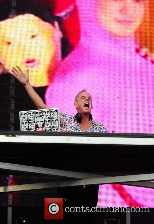 Fatboy Slim at Ultra Music Festival, Miami