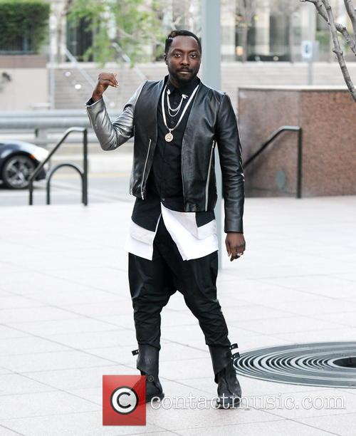 will.i.am Filming Music Video