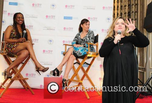 Amy Jo Johnson, Yvonne Mccormack Lyons and Jennie Walker 5