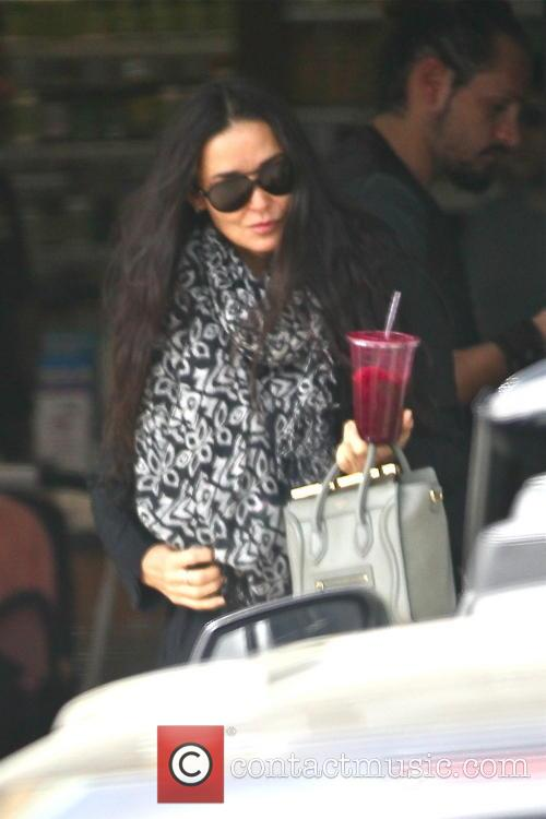 Demi Moore out shopping in West Hollywood with...