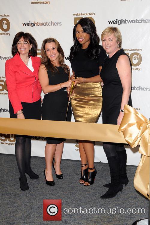 Heather Nidetch, Andrea Shapiro Davis, Jennifer Hudson and Cheryl Callan 4