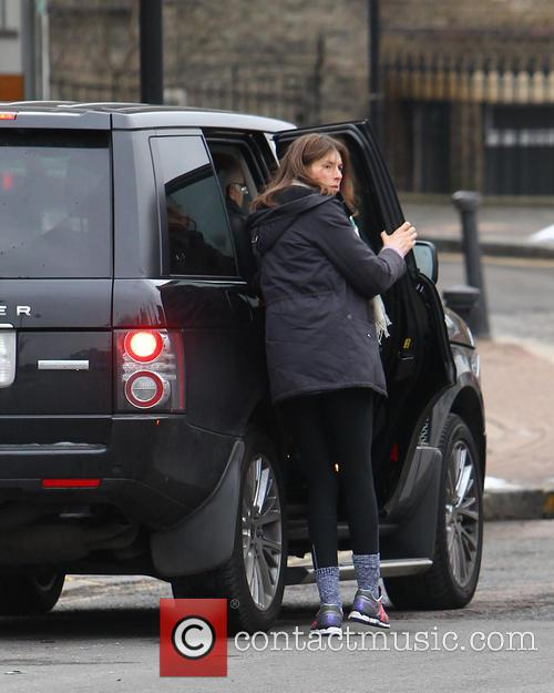 Celebrities on the school run