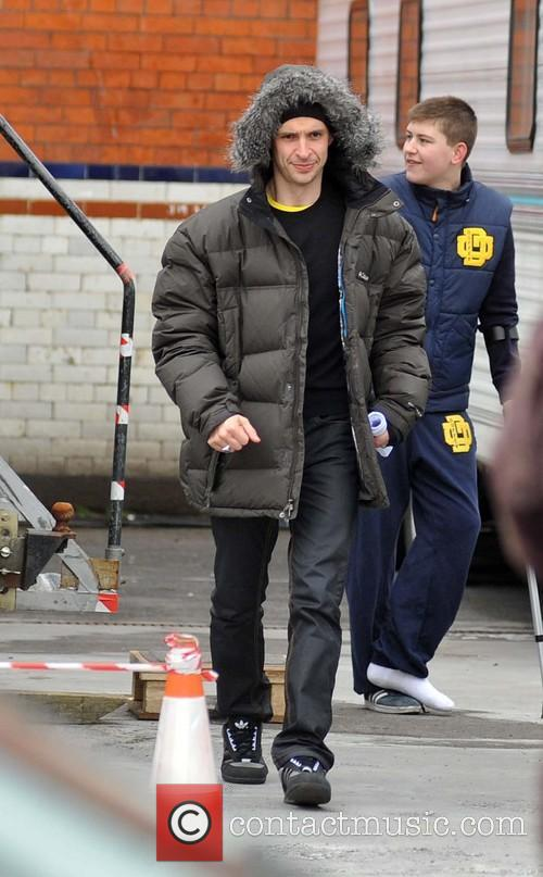 RTE drama Love/Hate season 4 film set
