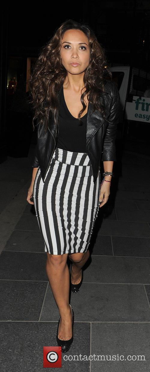 myleene klass the saturdays enjoys a night 3574744