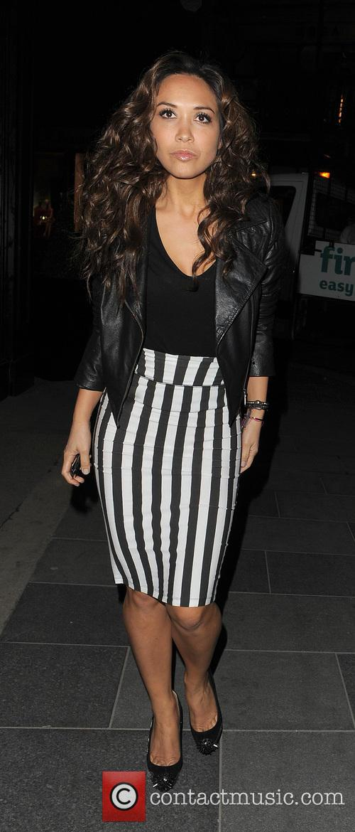 myleene klass the saturdays enjoys a night 3574750