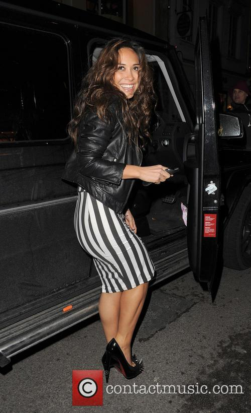 myleene klass the saturdays enjoys a night 3574770