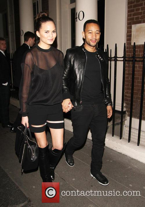 John Legend in Mayfair
