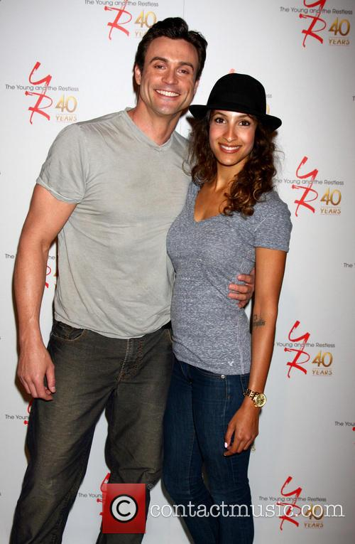 Daniel Goddard and Christel Khalil