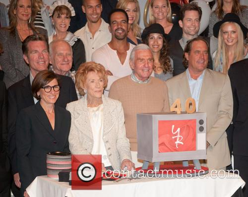 Jeanne Cooper and Cast 1