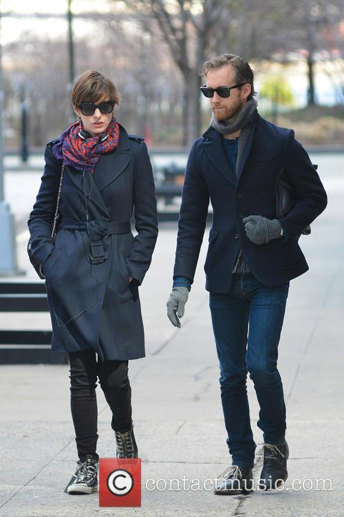 Anne Hathaway and Adam Shulman 13