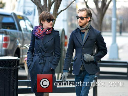 Anne Hathaway and Adam Shulman 16