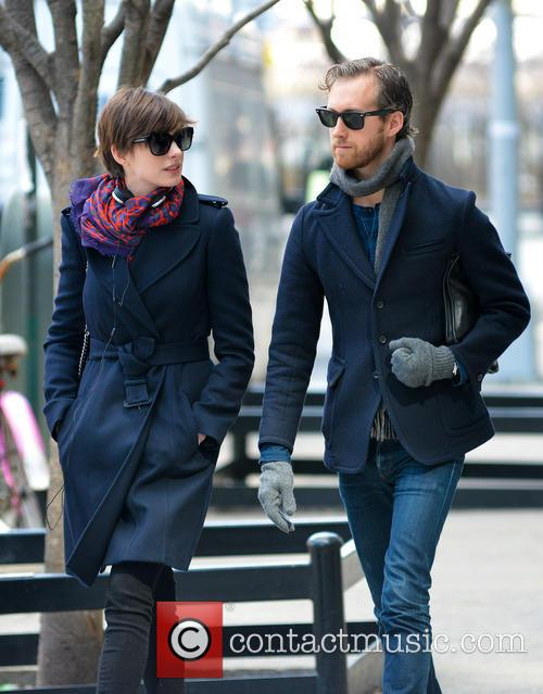 Anne Hathaway and Adam Shulman 17