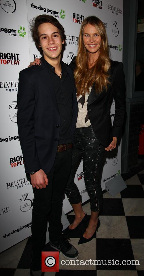 Elle Macpherson and Arpad Busson 3