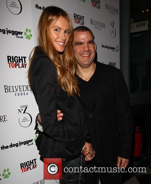 Elle Macpherson and Barry Karacostas 4