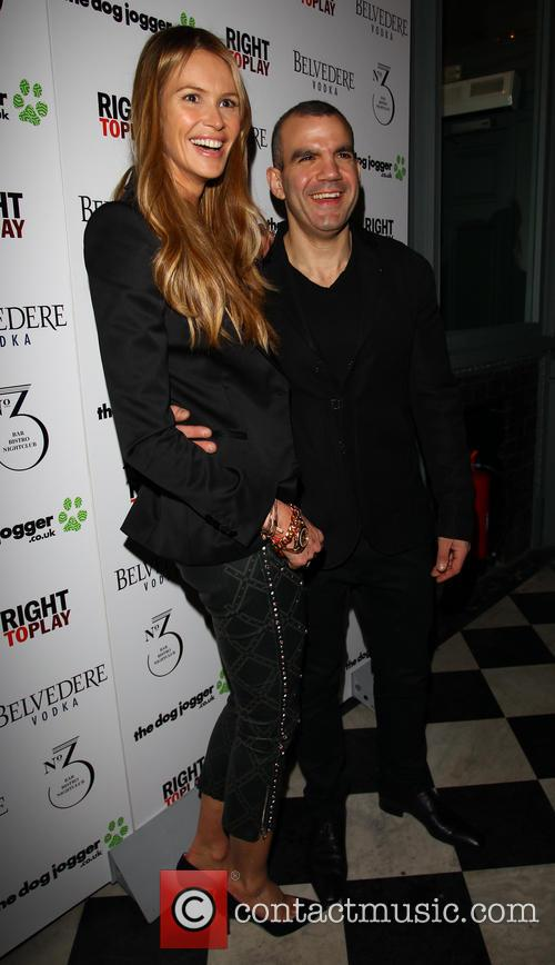 Elle Macpherson and Barry Karacostas 5