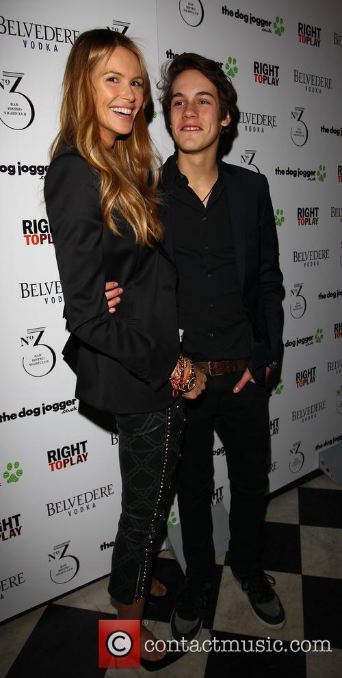 Elle MacPherson and Arpad Busson 5