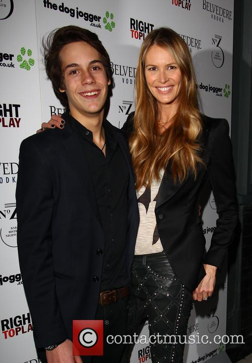 Elle MacPherson and Arpad Busson 6