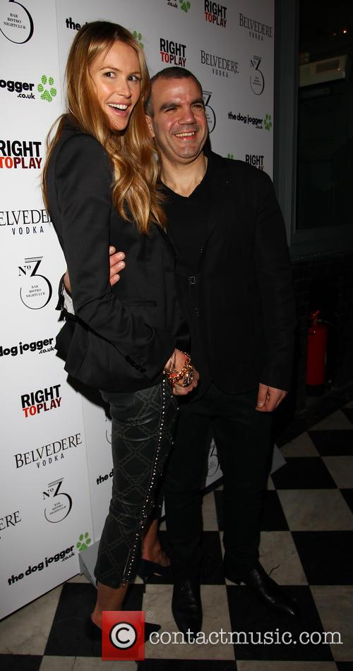 Elle MacPherson and Barry Karacostas 1
