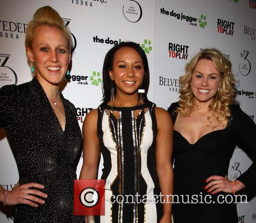 Alex Danson, Zoe Smith and Chemmy Alcott 5