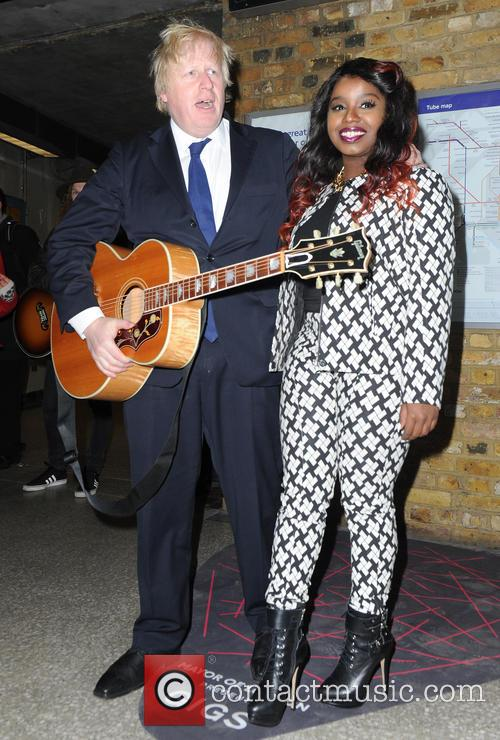 Boris Johnson and Misha Bryan 10