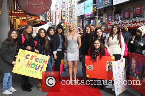 Britney Spears and Madame Tussauds 5