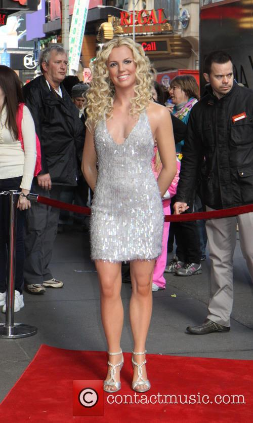 Britney Spears and Madame Tussauds 7
