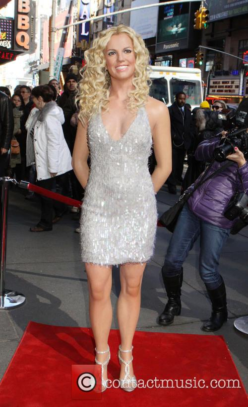 Britney Spears and Madame Tussauds 9