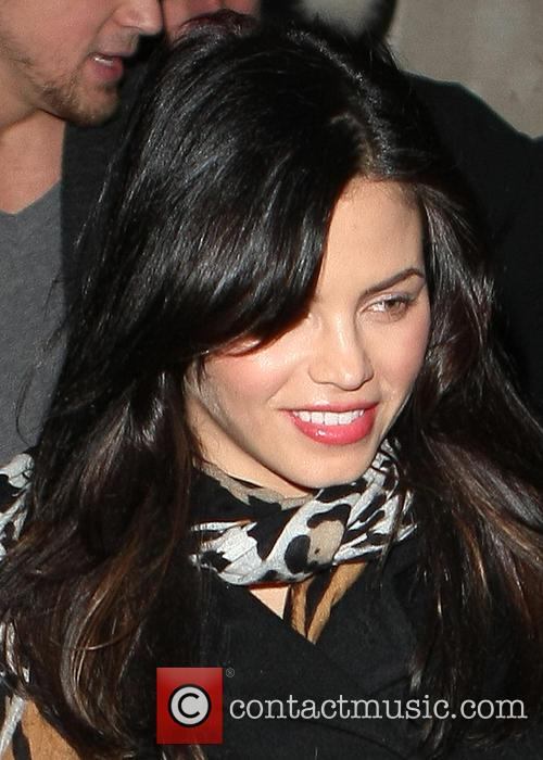 Pregnant Jenna Dewan and Channing Tatum are seen...