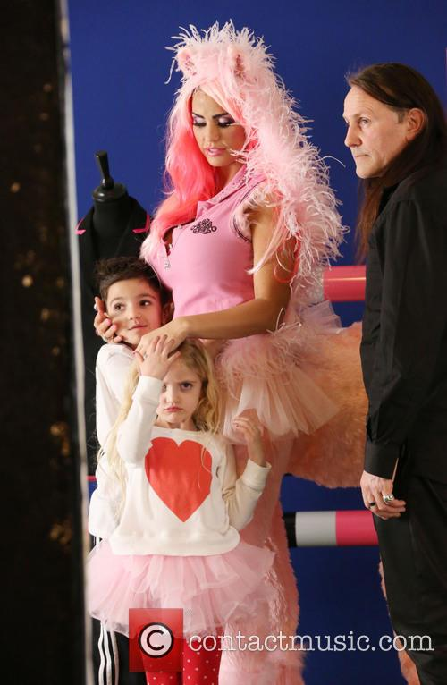 Katie Price with kids