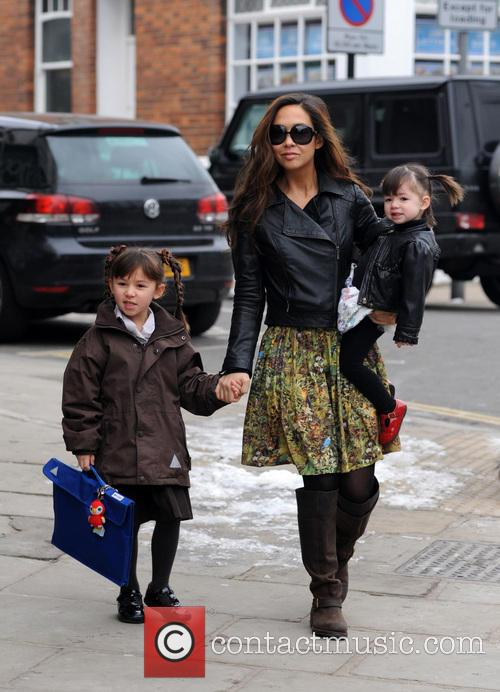 Myleene Klass, Hero Quinn and Ava Quinn 3