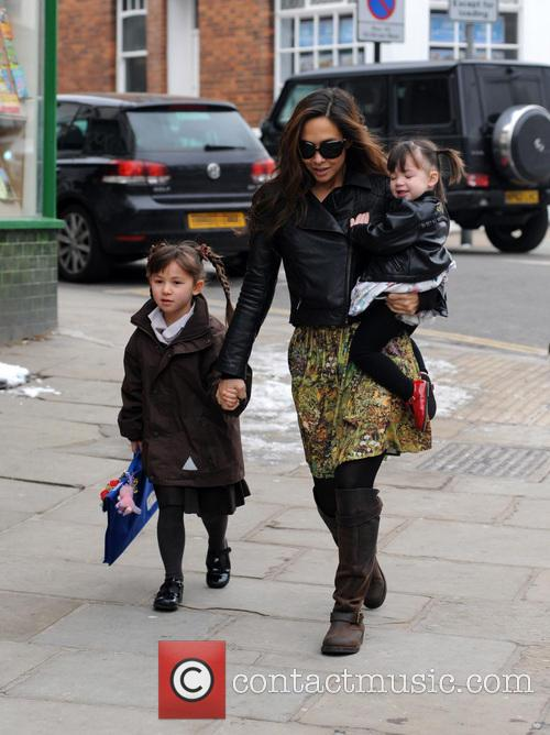 Myleene Klass, Hero Quinn and Ava Quinn 4