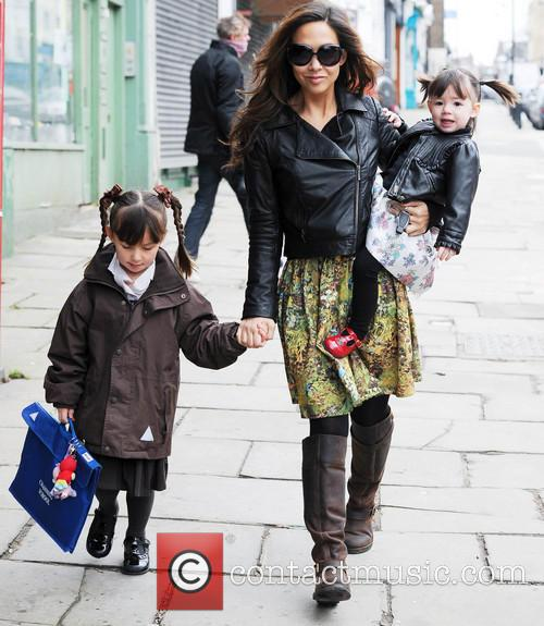 Myleene Klass, Hero Quinn and Ava Quinn 6