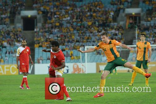 Brett Holman Scores Australia's Second Goal 7