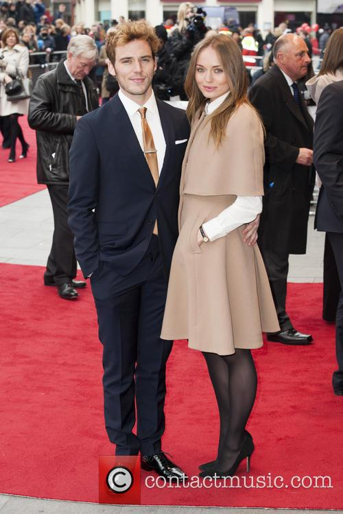 Sam Claffin, Laura Haddock, Odeon Leicester Square