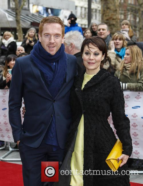Damian Lewis and Helen Mcrory 1