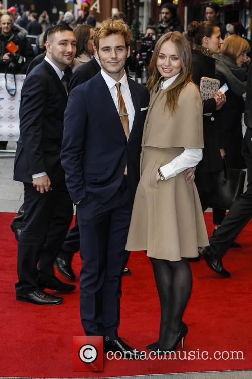 Laura Haddock and Sam Claffin 5