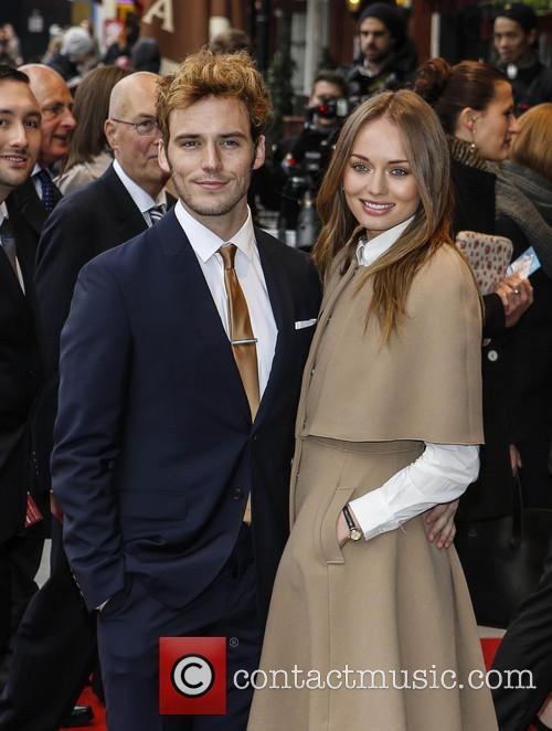 Laura Haddock and Sam Claffin 10