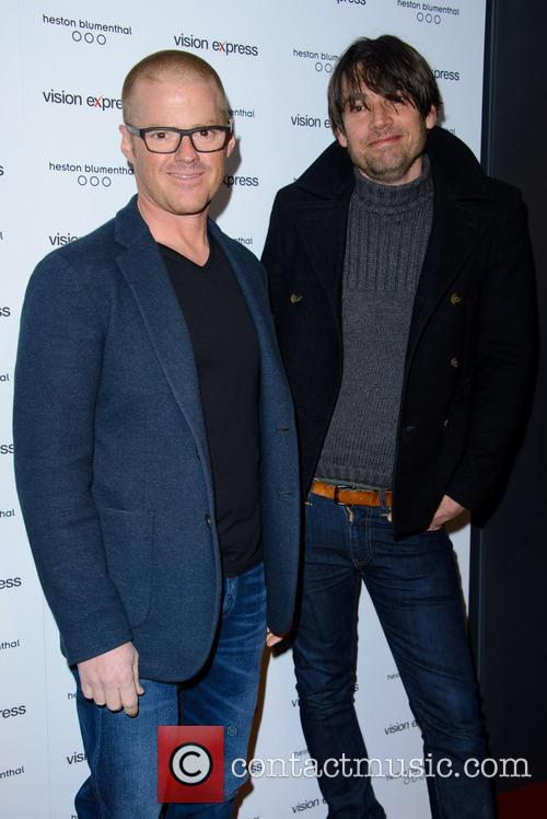 Heston Blumenthal and Alex James 3