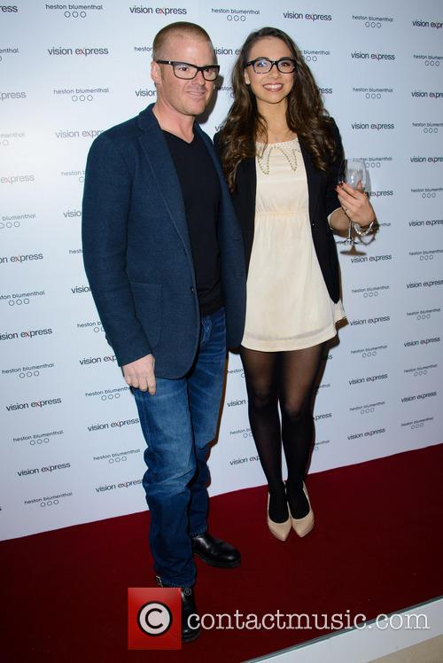 Heston Blumenthal and Georgina Cassar 2