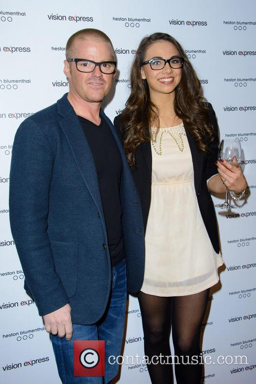 Heston Blumenthal and Georgina Cassar 4