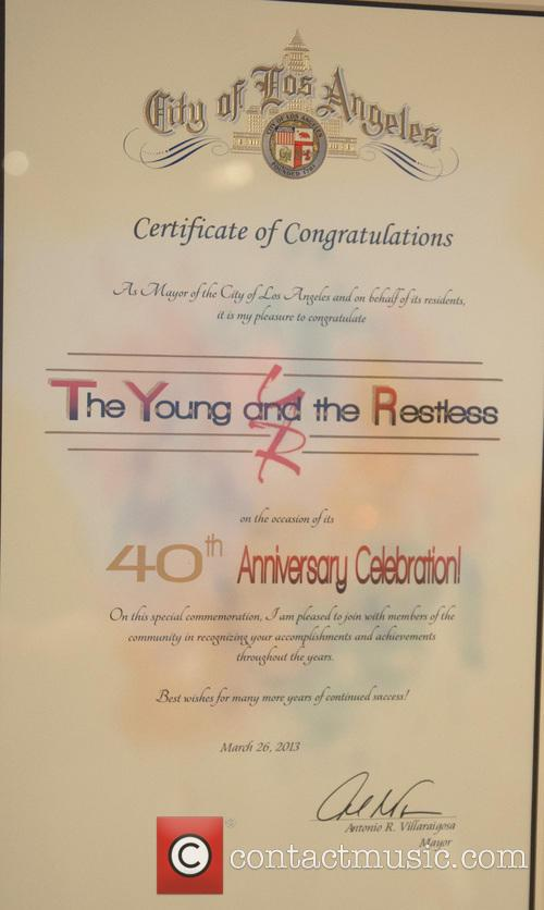 'The Young & The Restless' 40th anniversary