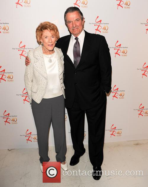 Jeanne Cooper and Eric Braeden 2