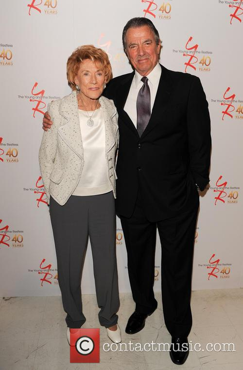 Jeanne Cooper and Eric Braeden 4