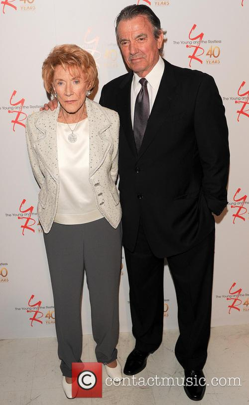 Jeanne Cooper and Eric Braeden 6