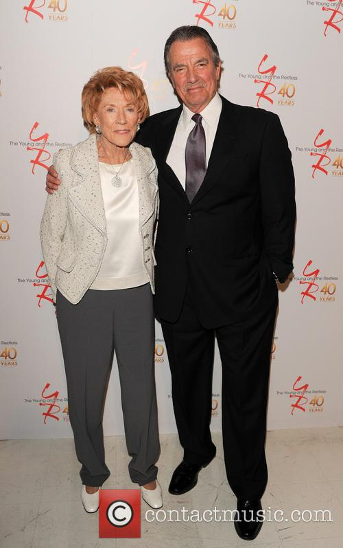 Jeanne Cooper and Eric Braeden 1