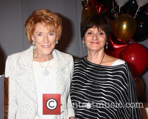 Jeanne Cooper, Jill Farren Phelps, CBS Television City