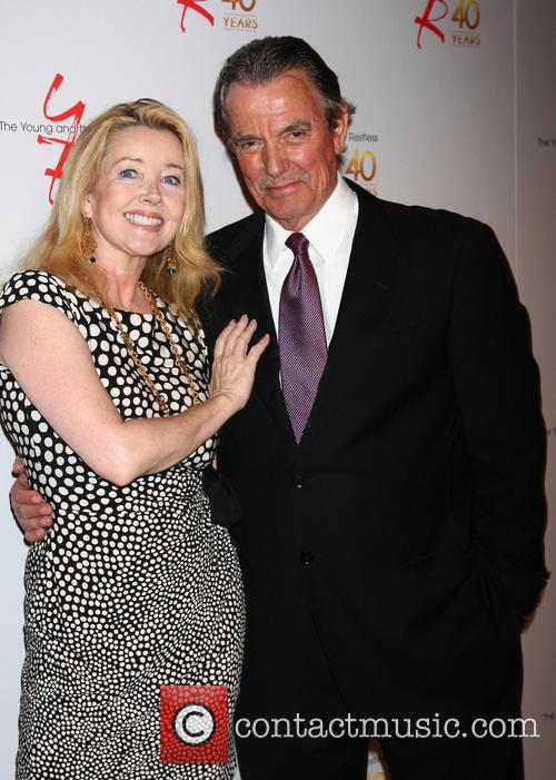 Melody Thomas Scott and Eric Braeden 2