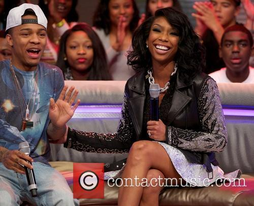 Shad Gregory Moss and Brandy Norwood 2