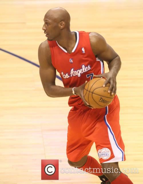 los angeles clippers forward lamar odom nba 3577695