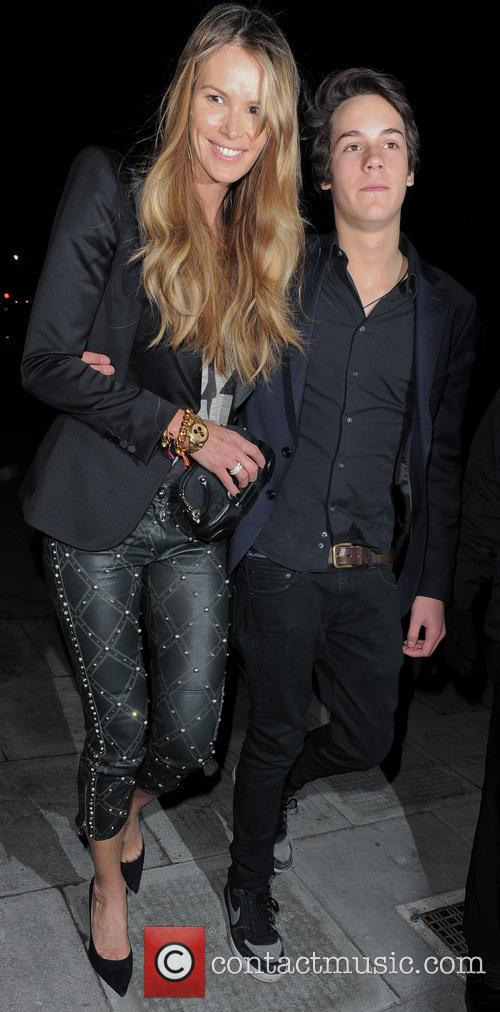 Elle Macpherson and Arpad Busson 8